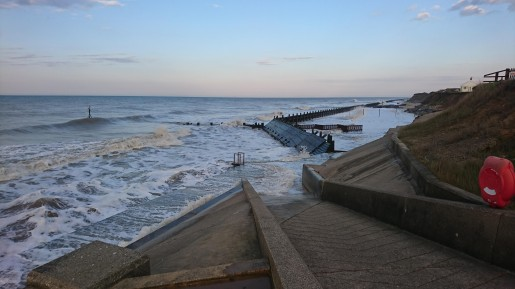 a high tide